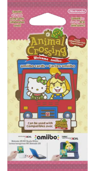 Animal Crossing Amiibo Cards - Hello Kitty