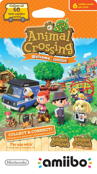 Animal Crossing Amiibo Cards - Welcome amiibo