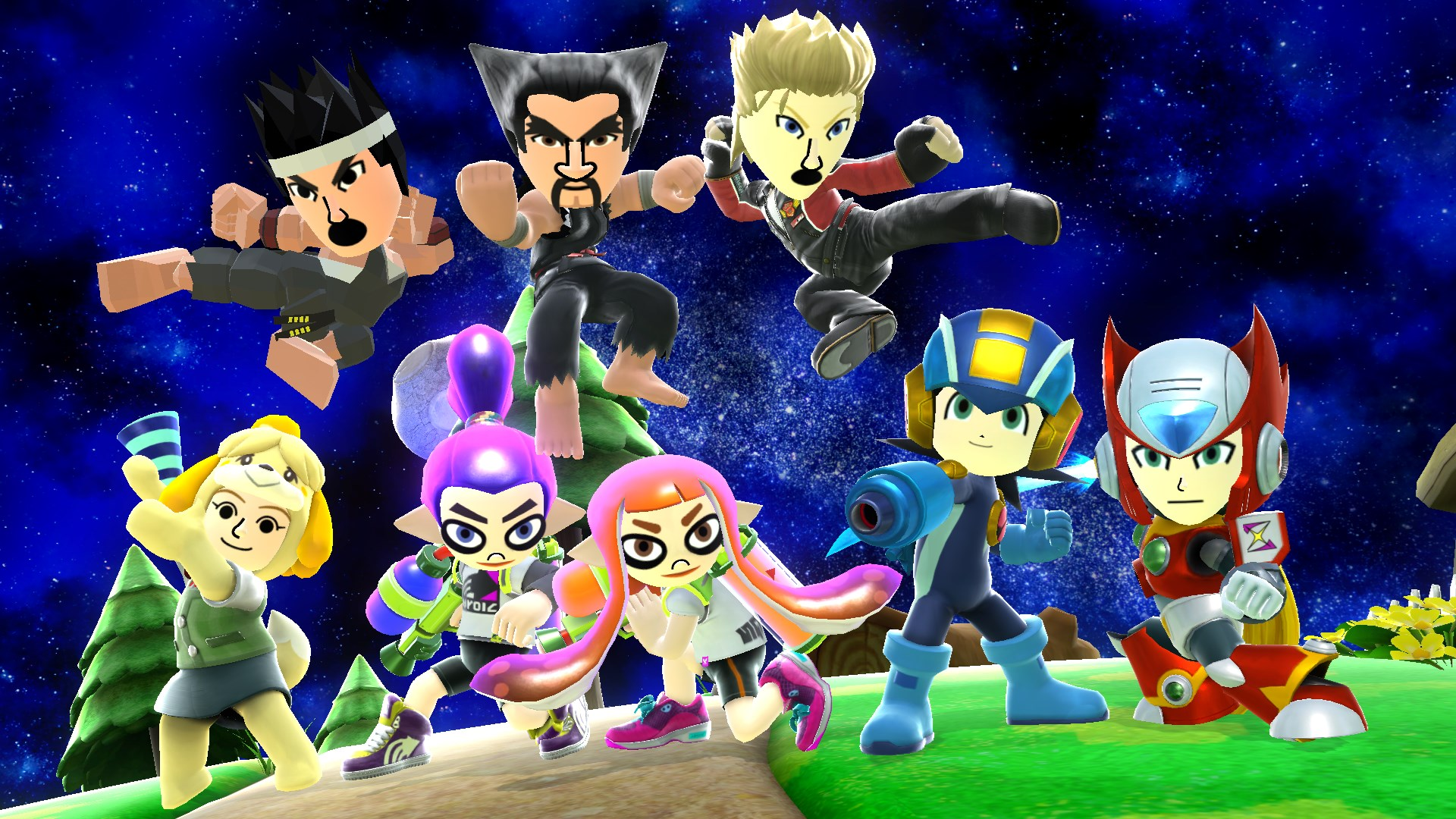 Super Smash Bros  Ultimate will have separate DLC for Mii Costumes