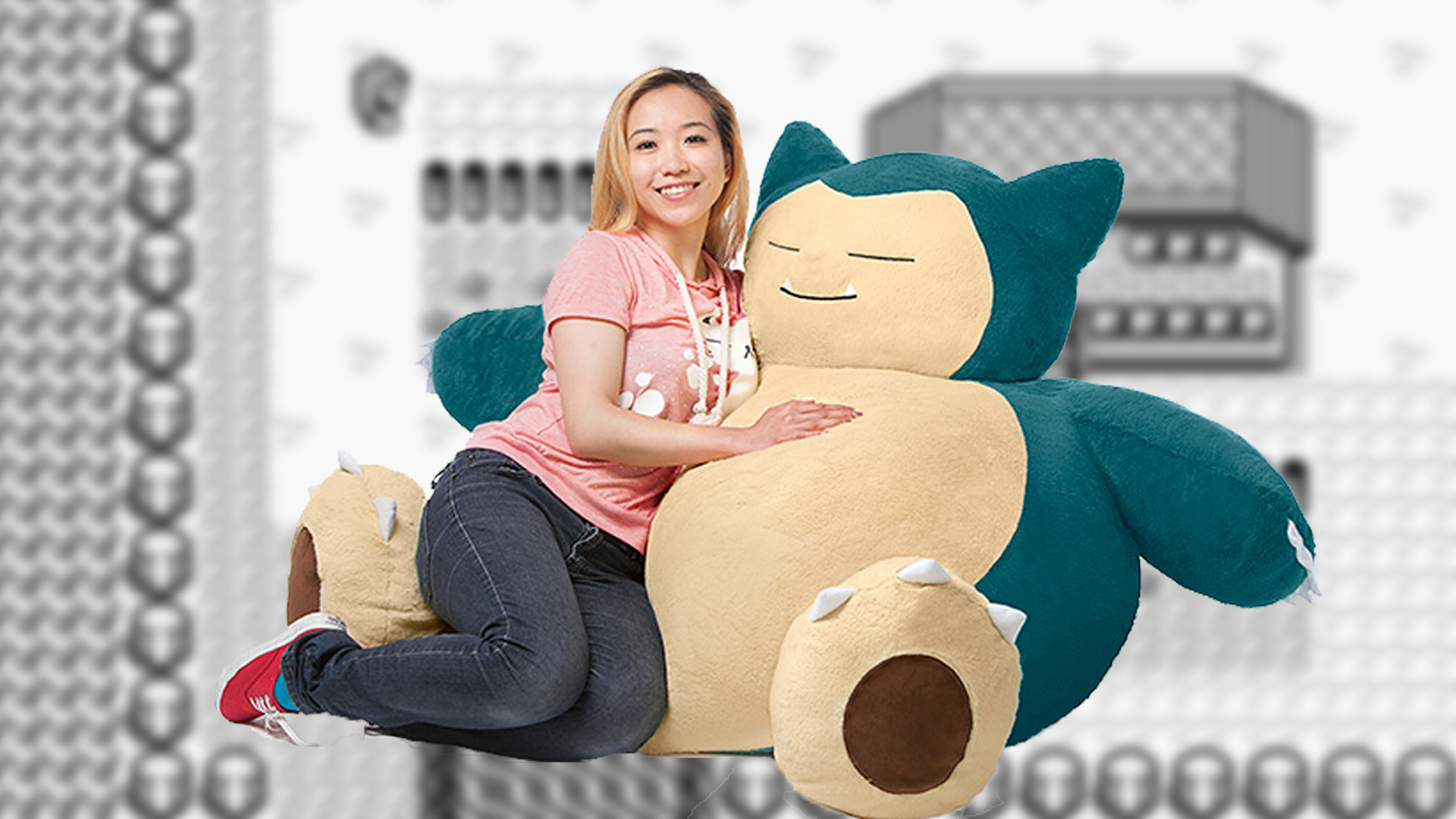 Giant Snorlax Bean Bag Chair Coming Exclusively To Think Geek
