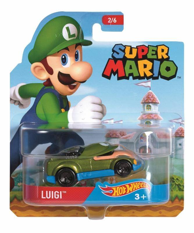 luigi hot wheels