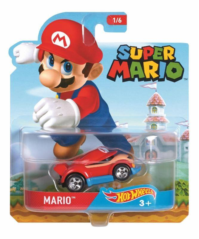 mario hot wheels