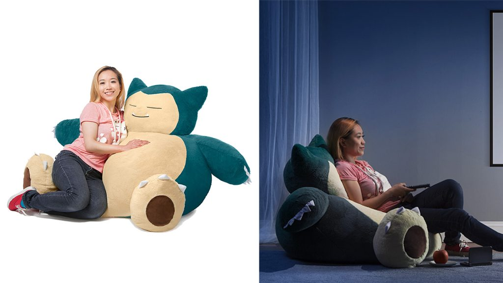Giant Snorlax Bean Bag Chair Coming Exclusively To Think