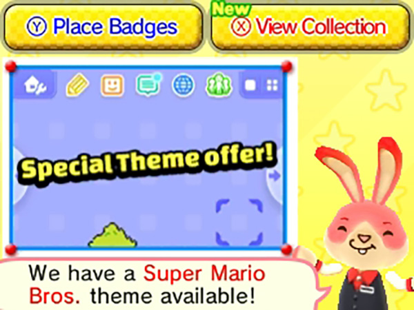 3DS Badge Arcade - Special Theme Promotion - Super Mario Bros2