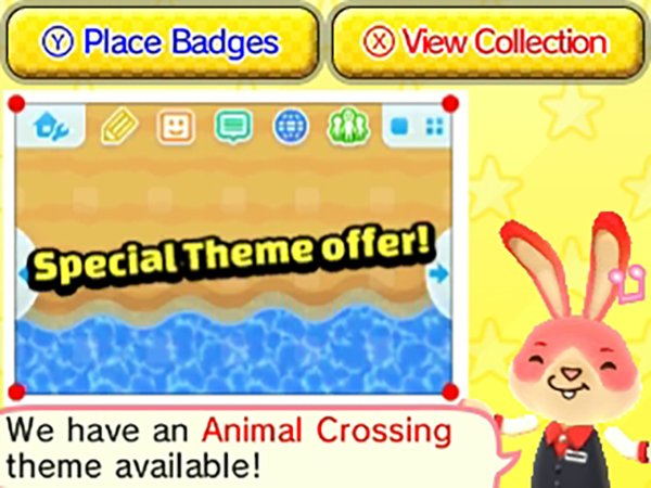 Badge Arcade -Special Theme Promotion - Animal Crossing Beach