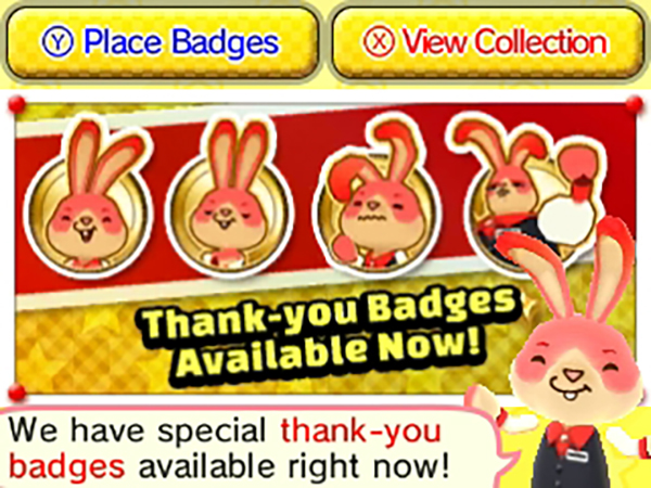 Badge Arcade -Thank You Badges Promotion