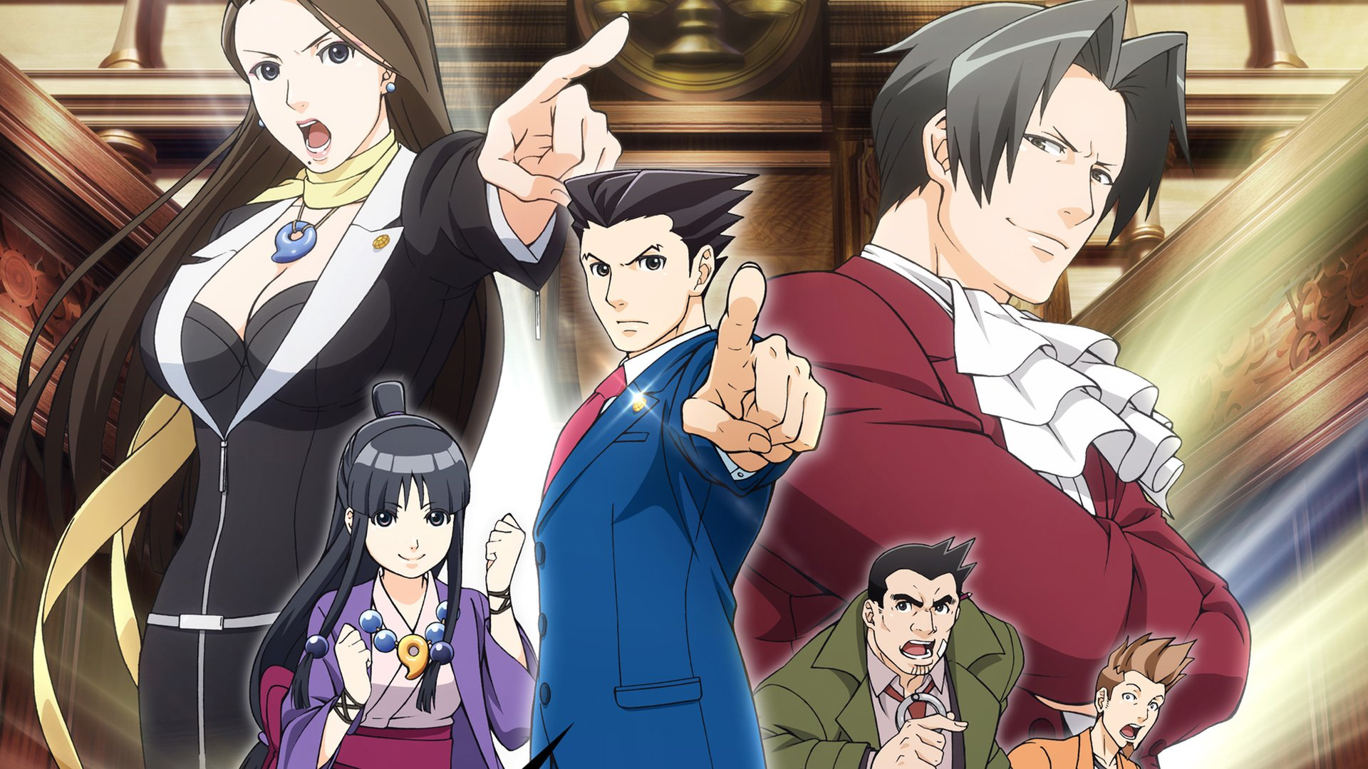 funimation to dub the ace attorney anime