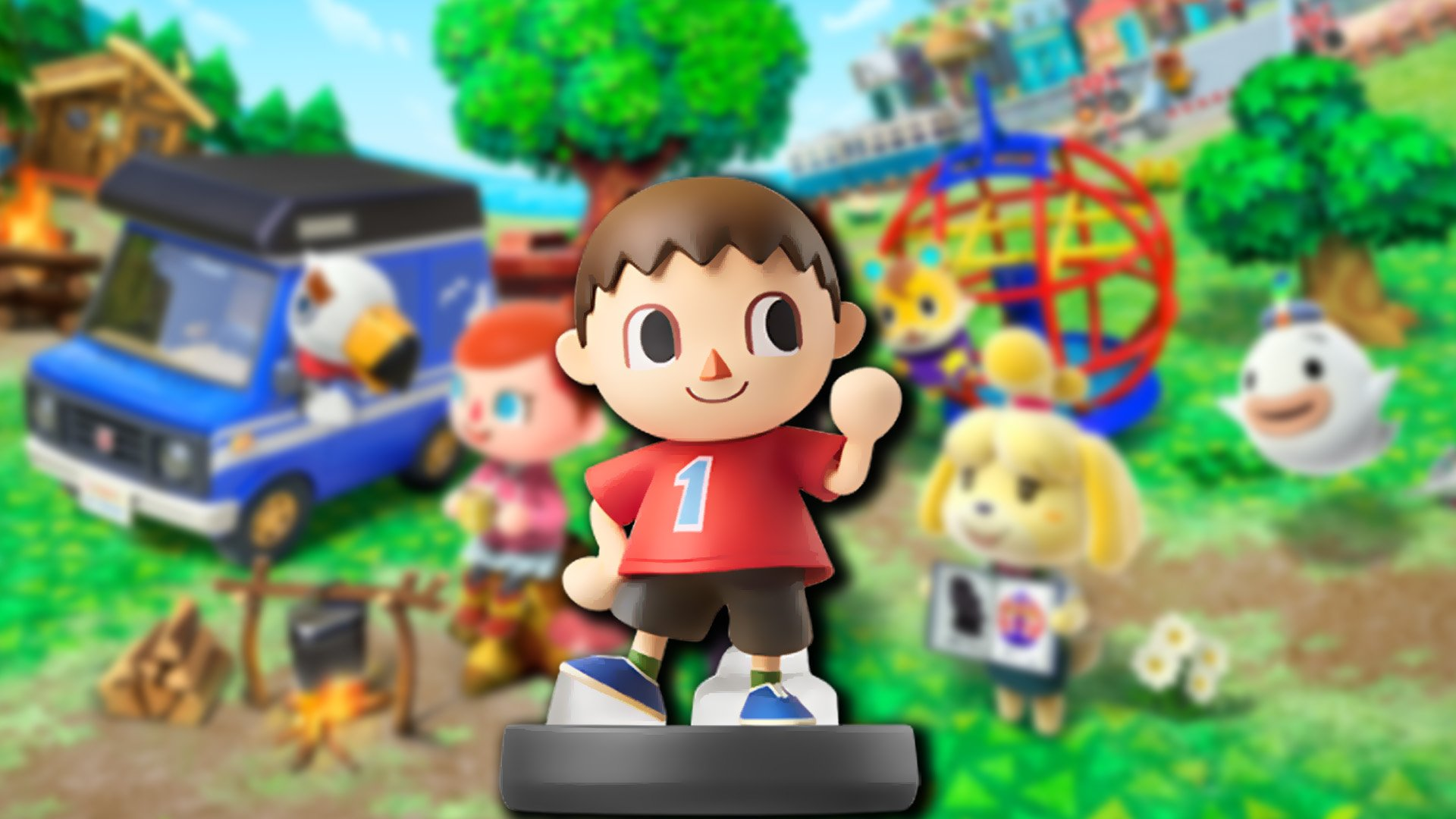 Tap The Villager Amiibo Into Animal Crossing New Leaf For A