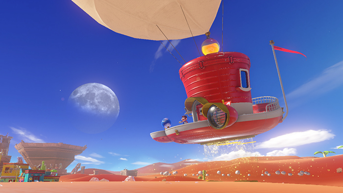 Super Mario Odyssey listed at 5.7GB