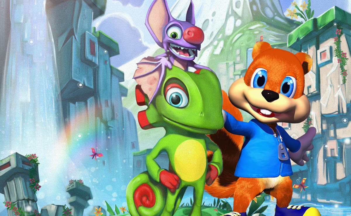 Conker S Bad Fur Day Easter Egg Discovered In Yooka Laylee