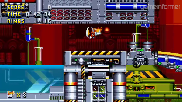 Sonic Mania New Trailer Shows Chemical Plant Act 2