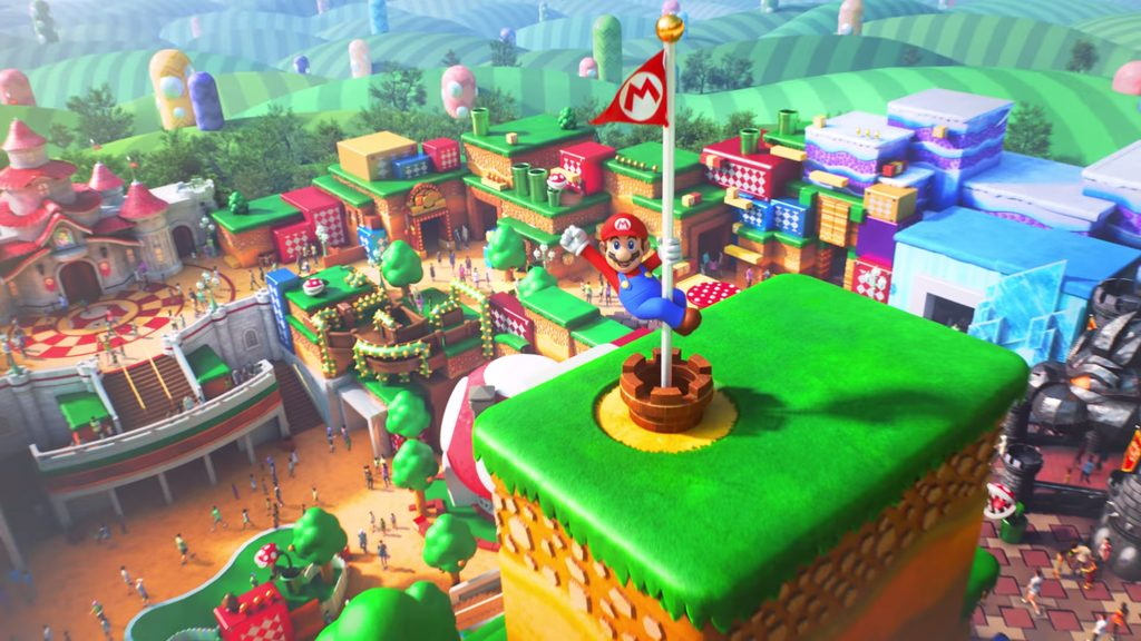 Universal Studios Japan released a new Super Nintendo World trailer