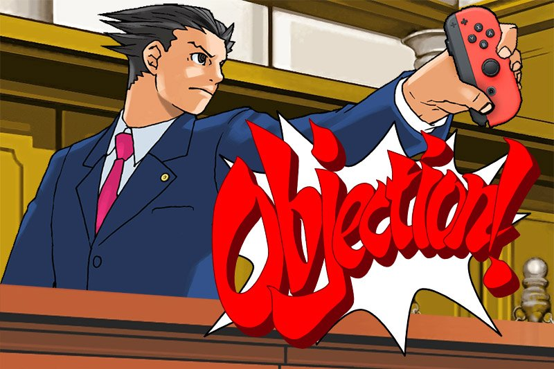Capcom will be bringing Ace Attorney games to Switch