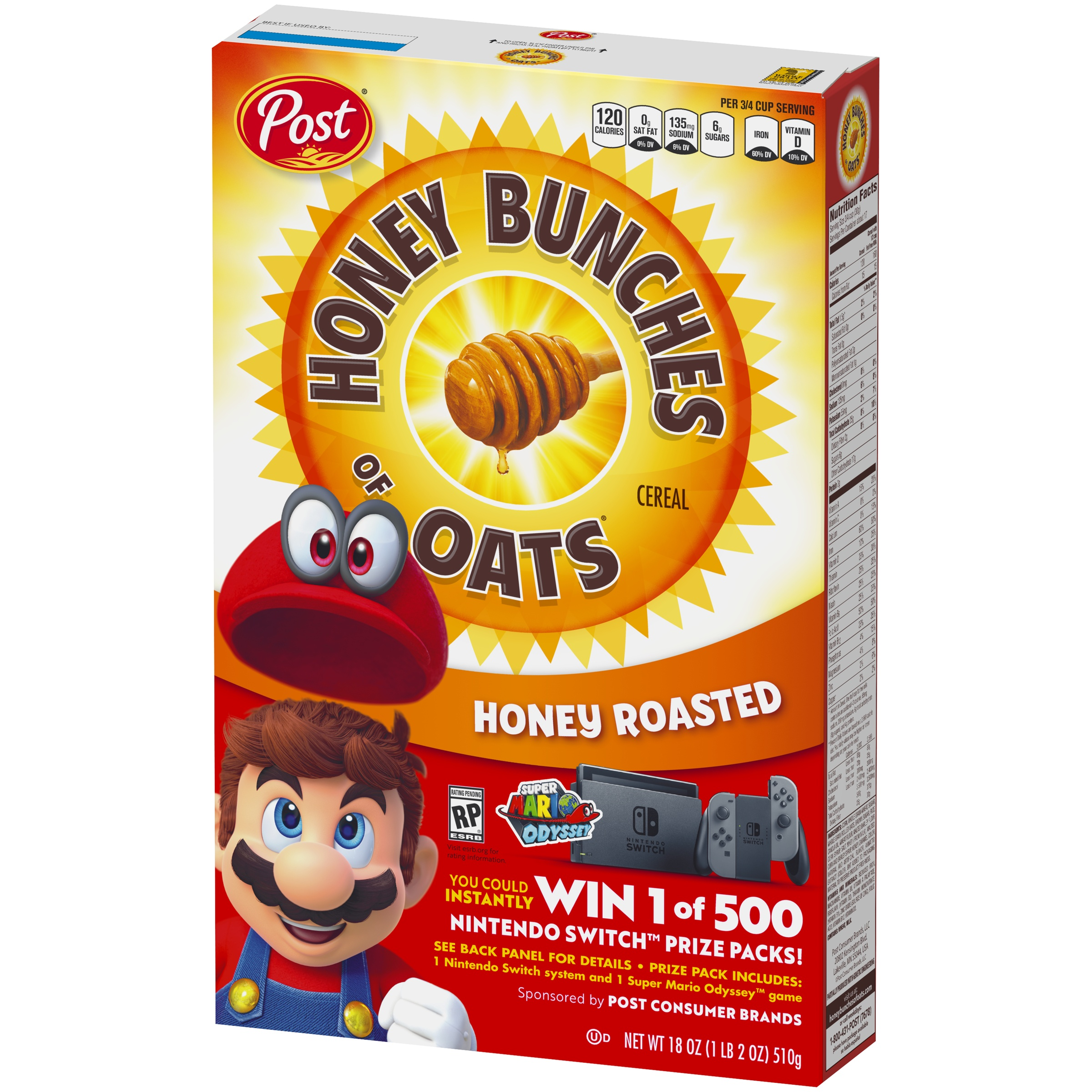 post sweepstakes nintendo switch code nintendo switch is the prize inside post cereal products 2106