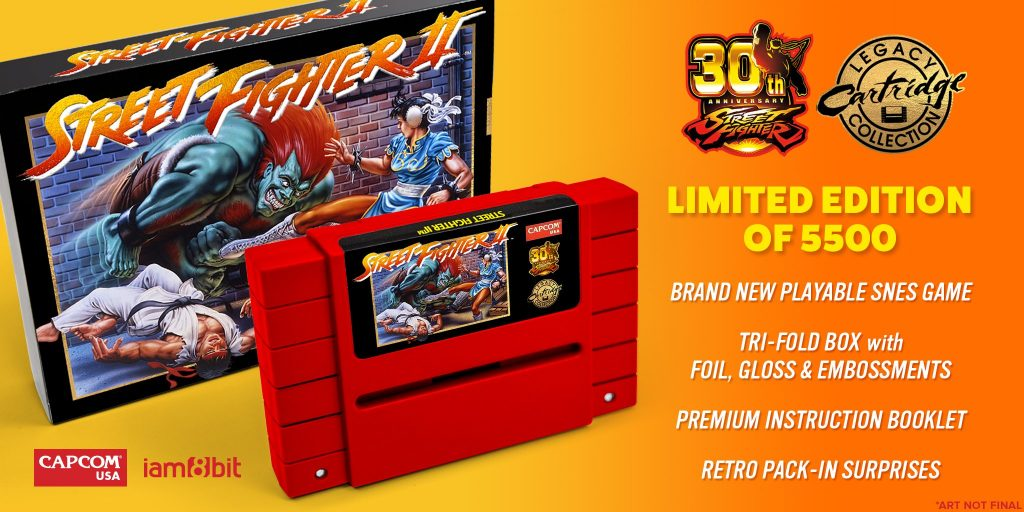 Street Fighter II reprint can catch your SNES on fire