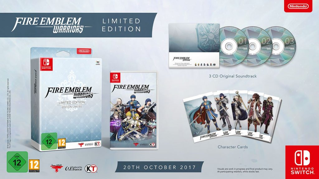 Fire Emblem Warriors launches October 20 in Europe, Gamescom 2017 trailer
