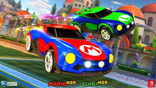 Rocket League for Switch has Super Mario and Metroid-themed Battle-Cars