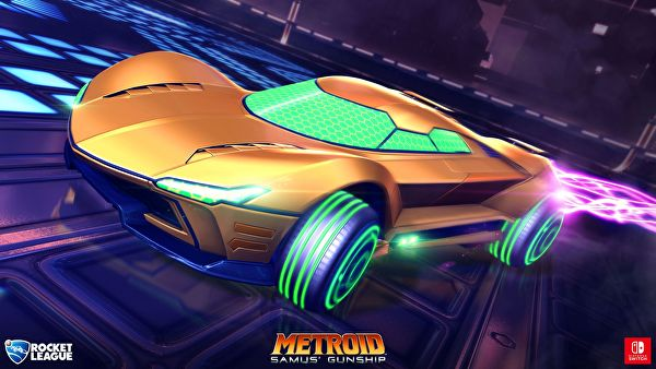Rocket League for Nintendo Switch will have Metroid and Mario Cars