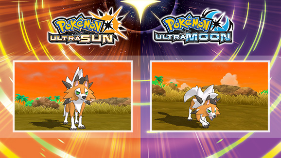 Pokémon Ultra Sun & Moon Reveals The New Dusk Form Of Lycanroc