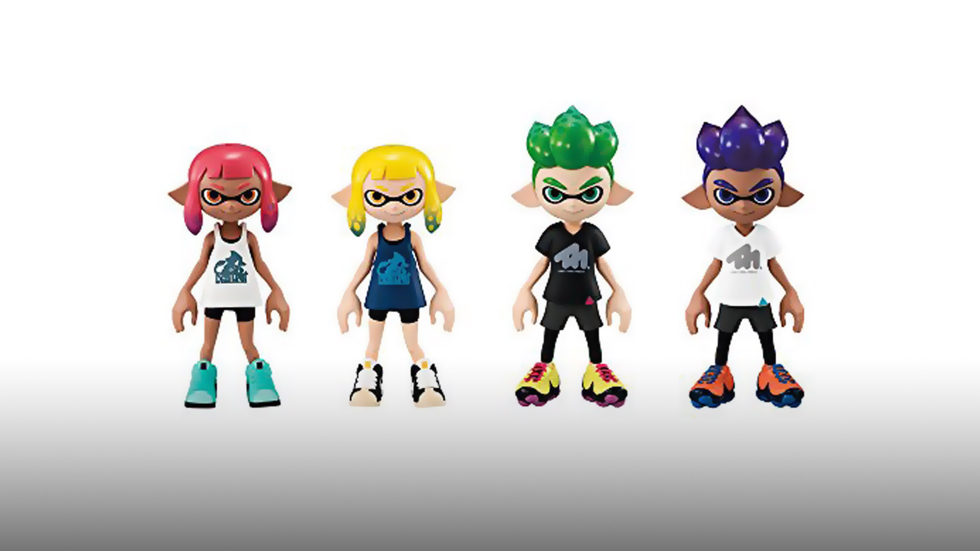 New Splatoon 2 Inkling Figures Help Your Collection Stay