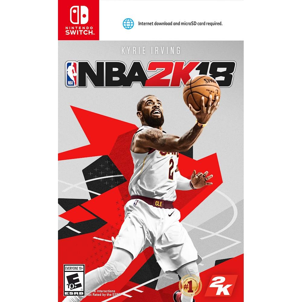 National Basketball Association 2K18 and More Future Games Require SD Card on Switch