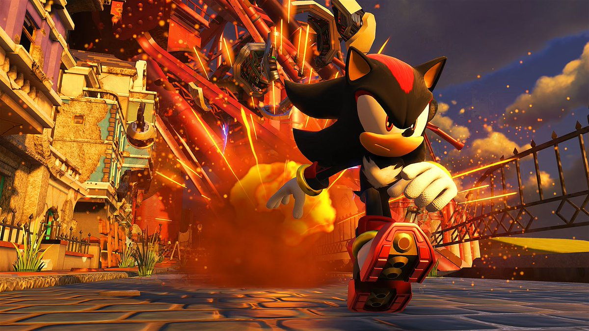 Sonic Forces will have an Episode Shadow add-on at launch