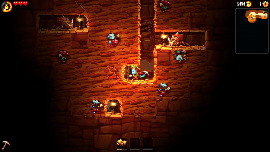 SteamWorld Dig 2 isn't over when you complete it