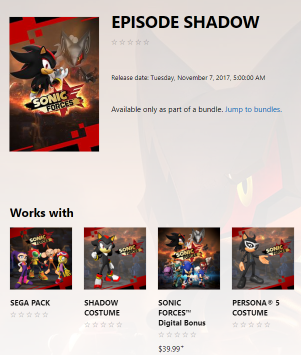 Sonic Forces Kicks Off Pre-Orders for the Digital Bonus Edition Today