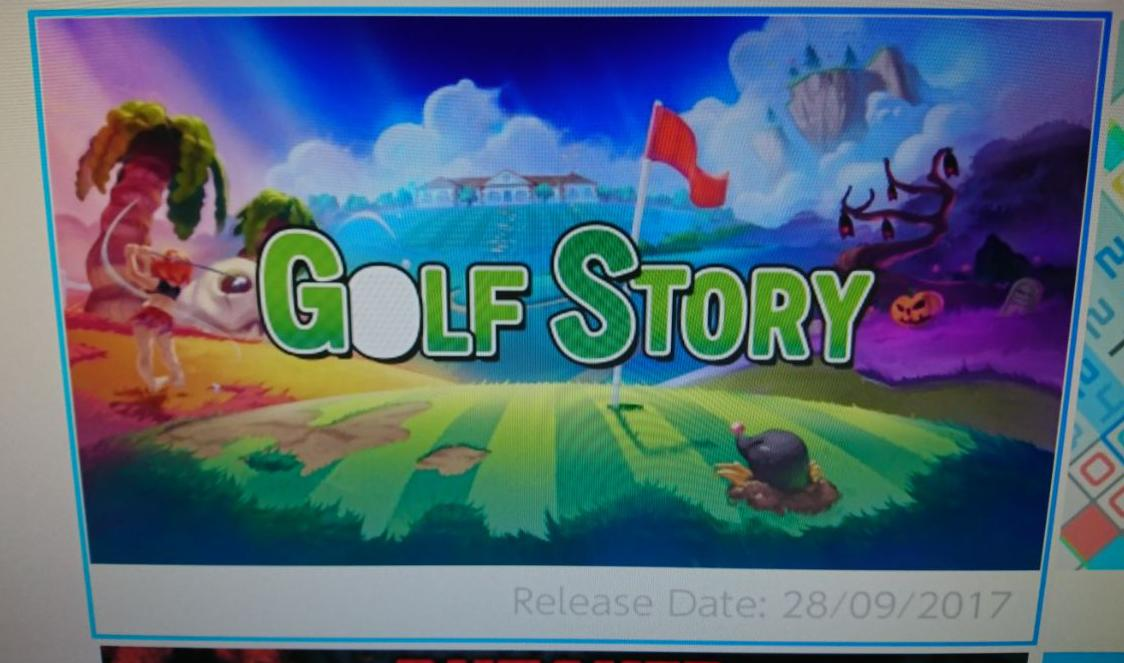 'Golf Story' Hits The Nintendo Switch eShop This Week
