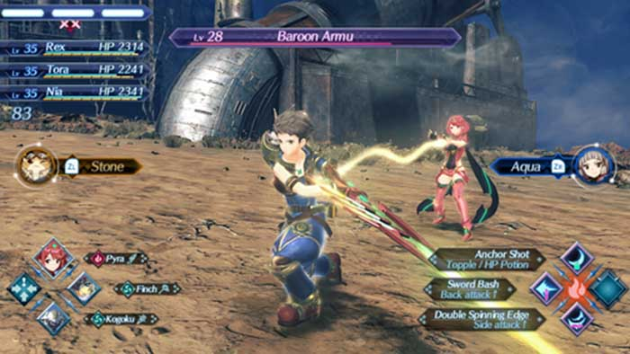 Xenoblade Chronicles Update Version 1.1.1 Improves Skip Travel And Mini Map