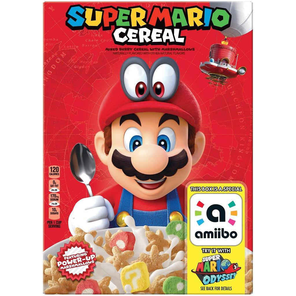Nintendo confirms Super Mario Cereal is real, coming soon
