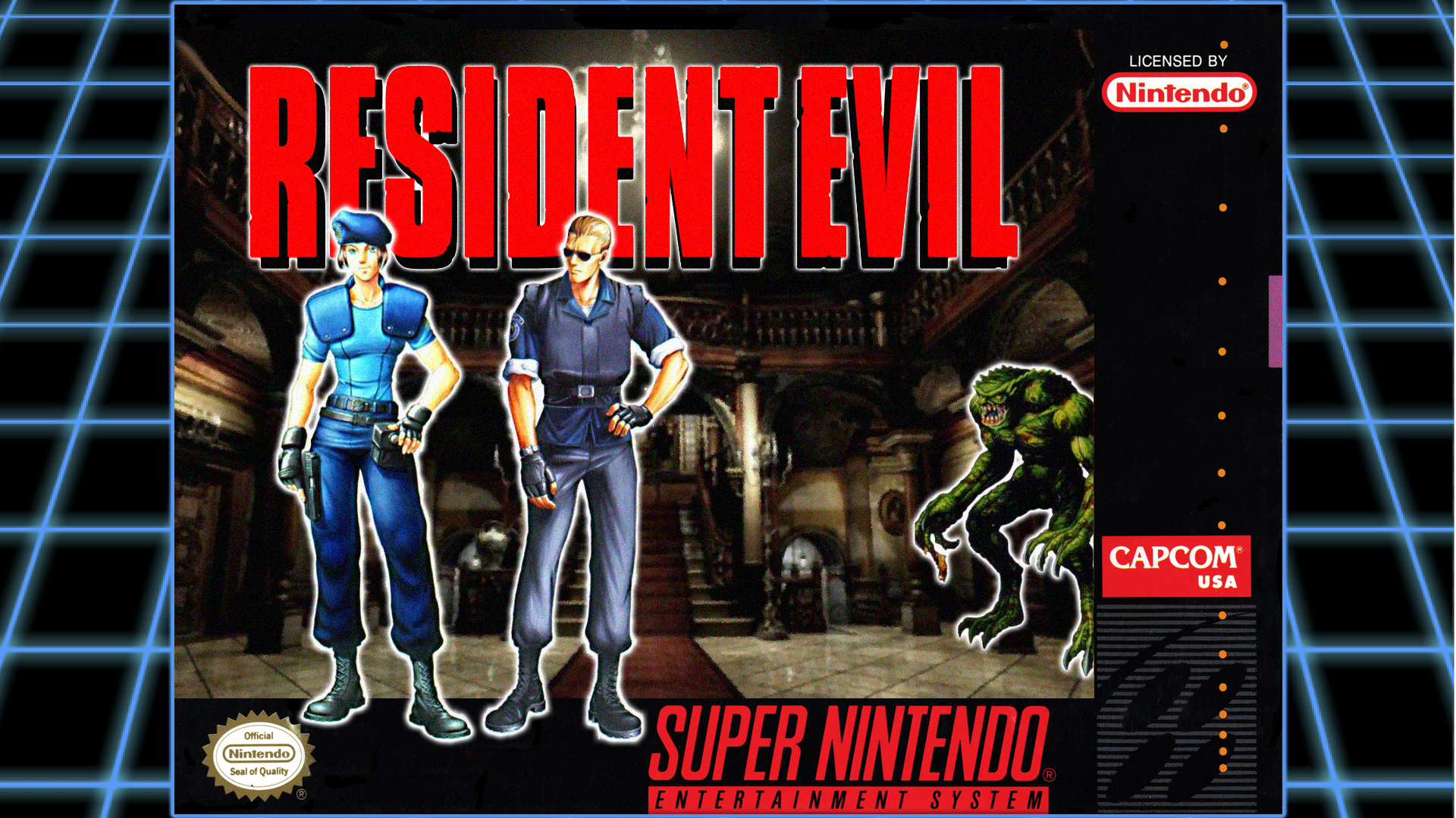 Resident Evil was originally an SNES title | Nintendo Wire