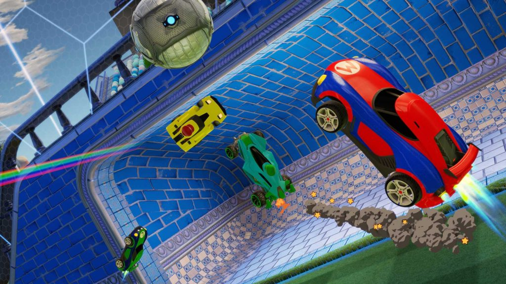 Rocket League to get a visual boost on Switch this spring