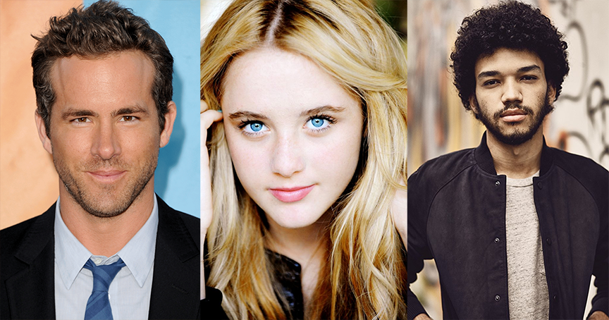 detective pikachu cast ryan reynolds kathryn newton justice smith