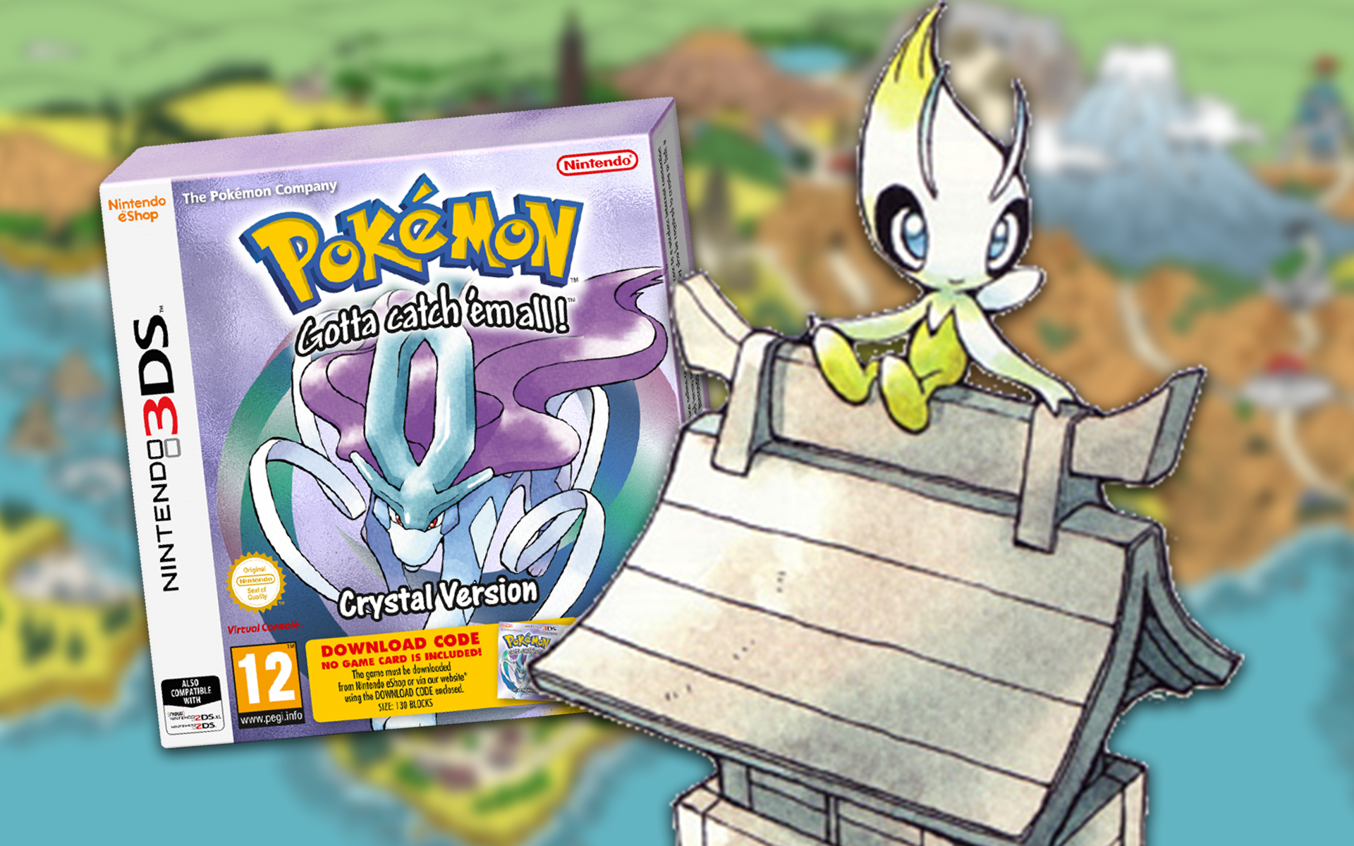 Guide How To Catch Celebi In The 3ds Version Of Pokémon Crystal