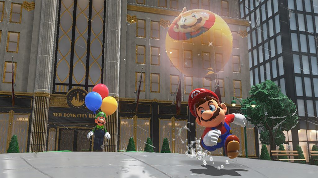 Super Mario Odyssey's free Luigi update is out now