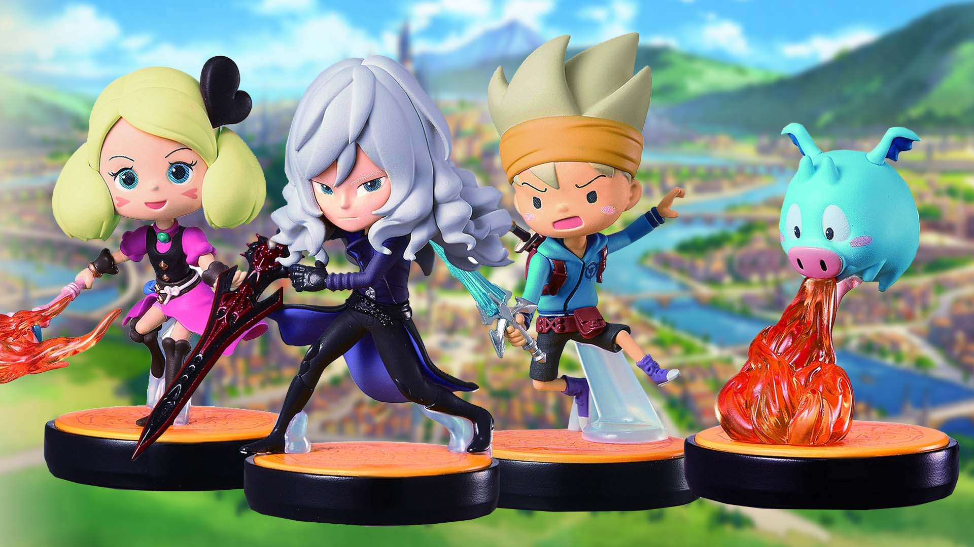 Amiibo Esque Snack World Nfc Figures Released In Japan Nintendo Wire