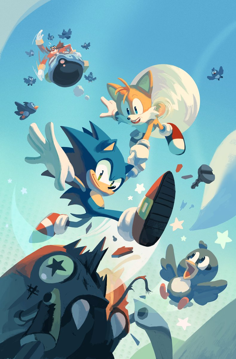 New art and character revealed for Sonic the Hedgehog comics ...