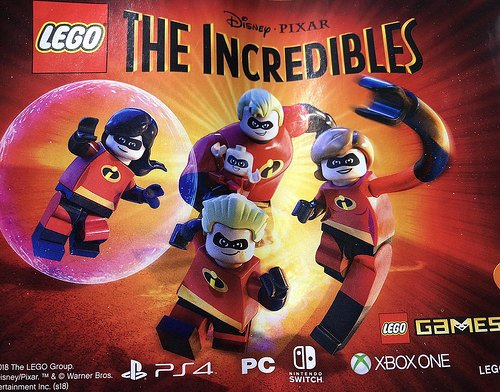 LEGO The Incredibles Confirmed By Advert In LEGO Pack