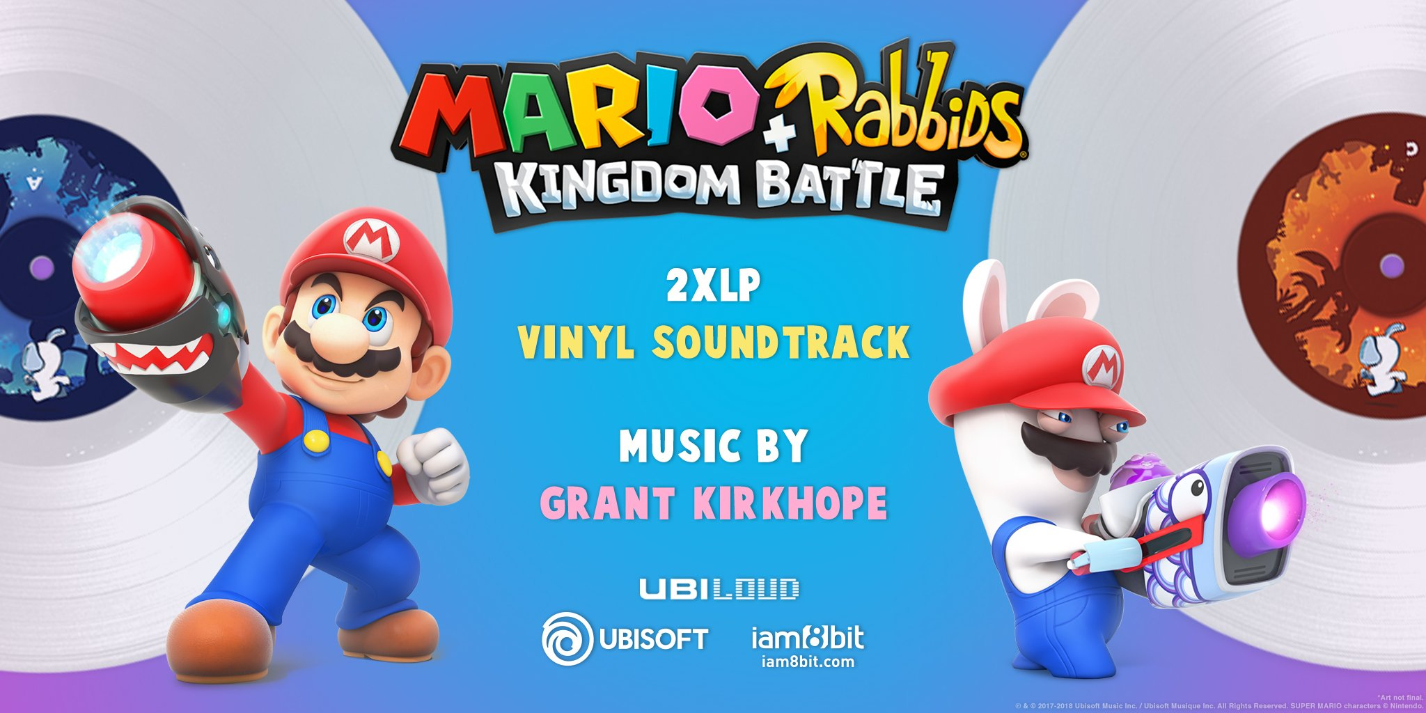 Mario Rabbids Vinyl Soundtrack Available For Pre Order