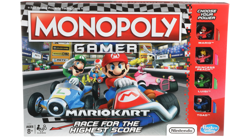 'Mario Kart' Monopoly Adds Fun Gaming Twists to a Classic