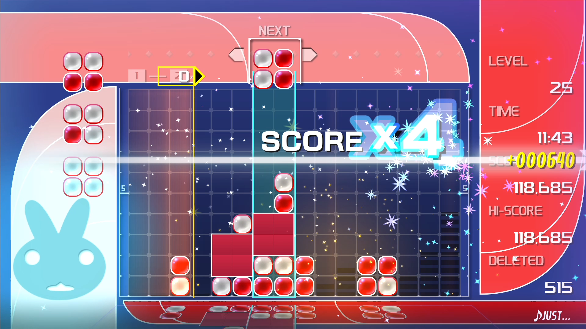 Lumines Remastered Drops Onto Nintendo Switch This Spring