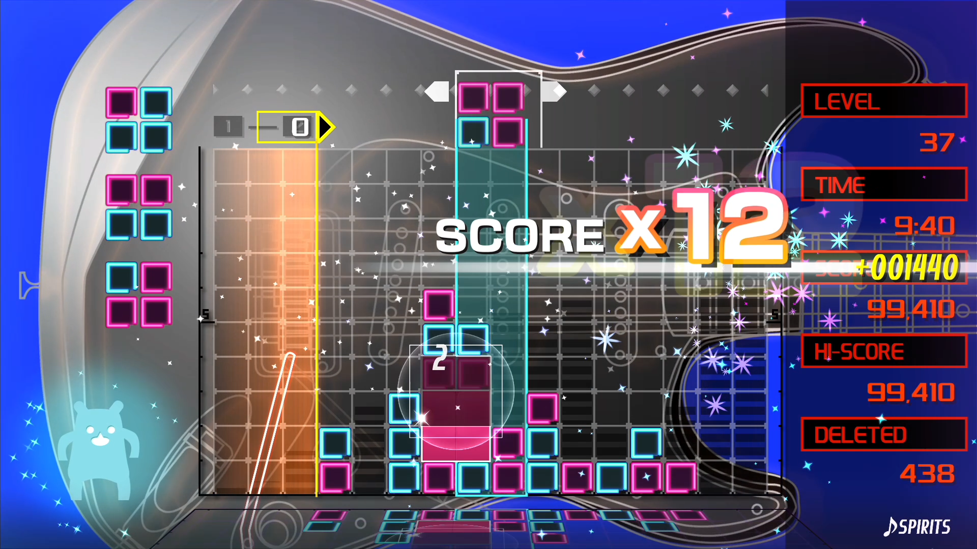 Lumines Remastered coming to the Switch this May