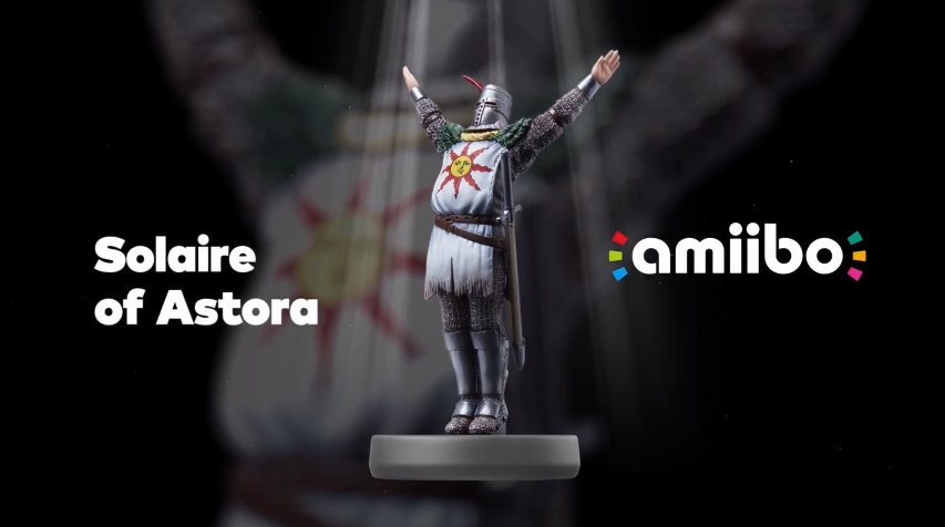 Dark Souls is getting an amiibo for Nintendo Switch