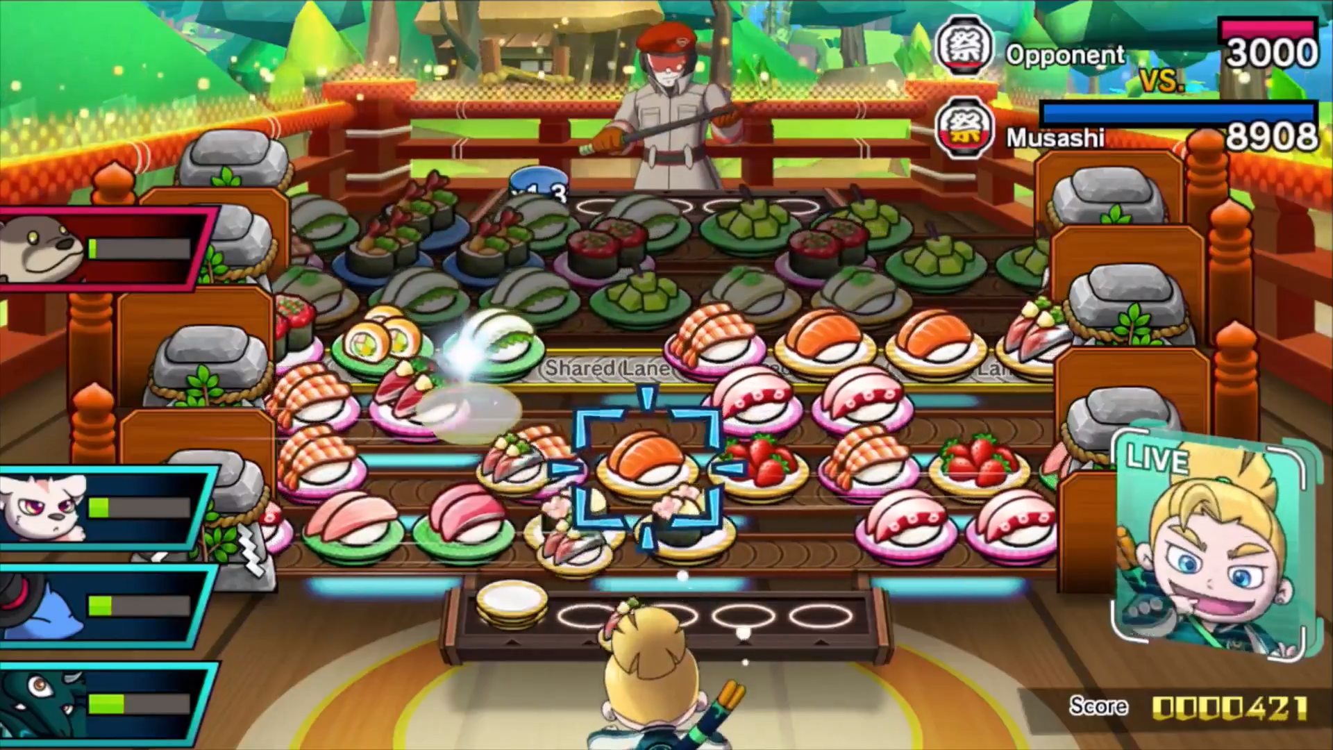Sushi Striker Comes to Nintendo Switch and 3DS June 8