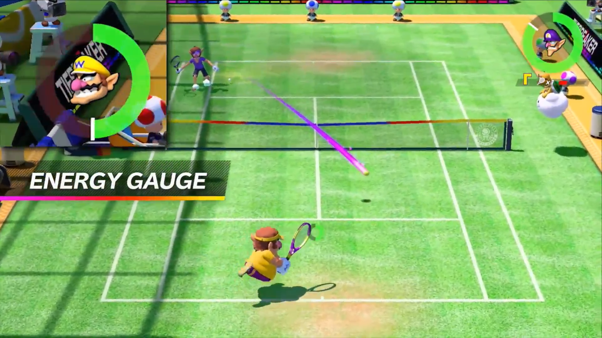 New Mario Tennis Aces gameplay trailer released
