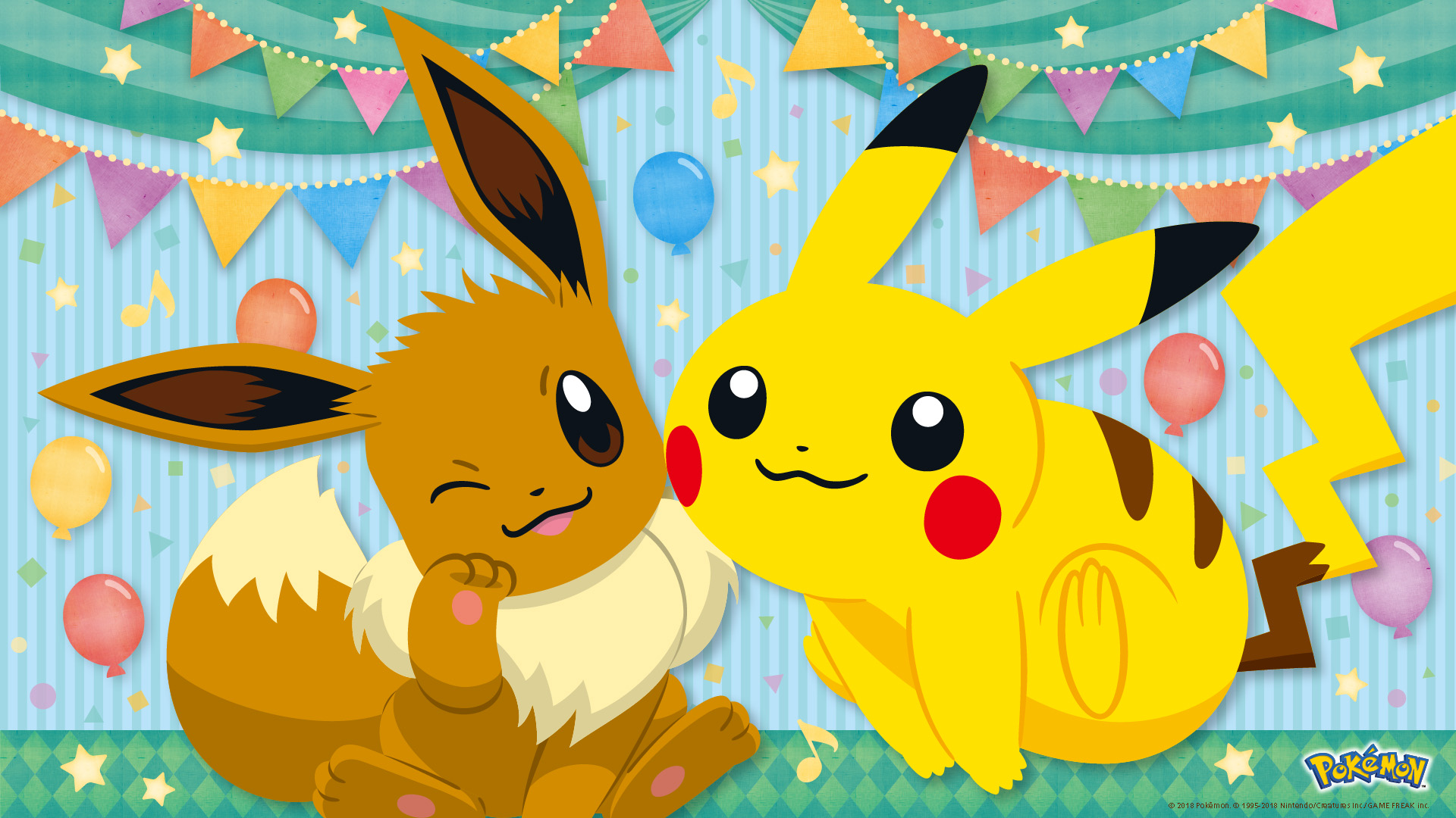 Decorate Your Devices With Pokemon Birthday 2018 Wallpapers