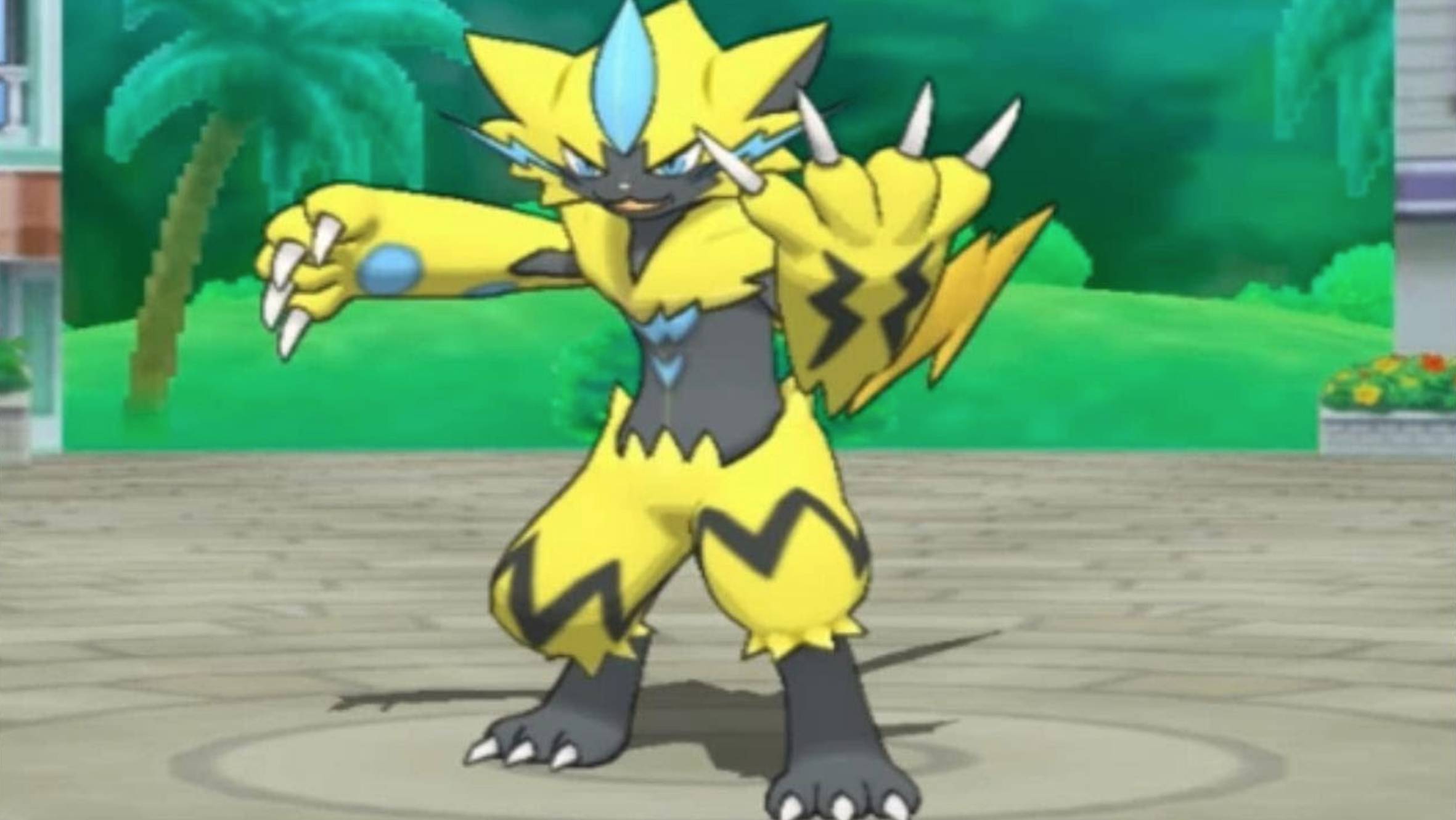 Mythical Pokemon Zeraora Revealed for Ultra Sun and Ultra Moon