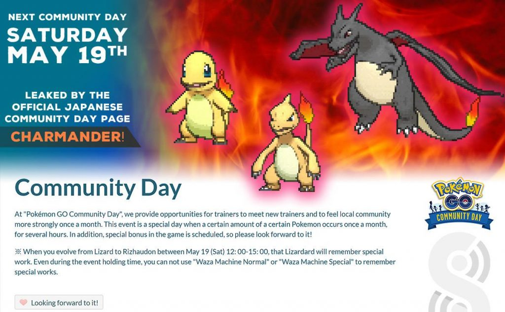 Pokémon GO's May Community Day Pokémon leaked | Nintendo Wire