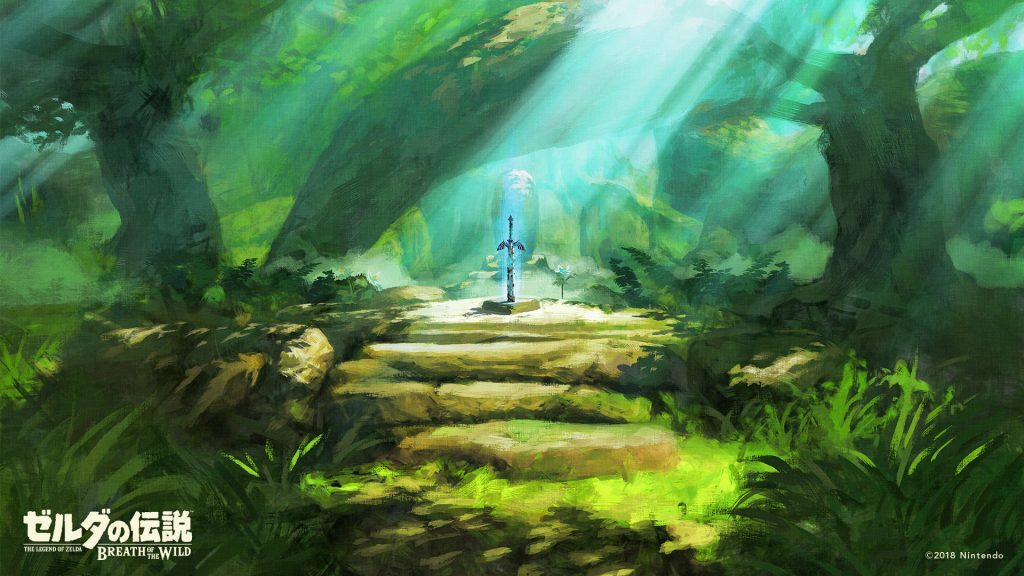 Decorate your devices with these Breath of the Wild 2018 birthday wallpapers